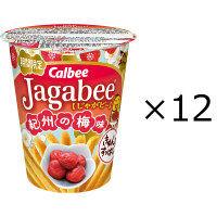 カルビー Jagabee紀州の梅味 38g 1セット(12個)