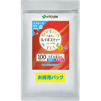 【水出し可】 伊藤園 ヘルシールイボスティー ティーバッグ 1袋(100バッグ入)