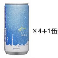 テアニン炭酸水 200ml 4+1缶