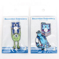 デコレーション刺繍モンスターズインク2種