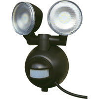マクサー電機 屋外用LEDセンサーライト 8W AC電源 M8W-SLED (直送品)