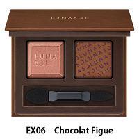【数量限定】LUNASOL(ルナソル) デュオ・ドゥ・ショコラアイズ EX06(Chocolat Figue)