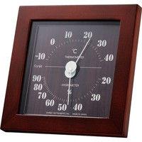 フォレ温湿度計 ブラウン TM-4672 エンペックス(直送品)