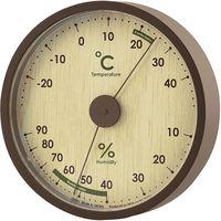 ノア精密 アナログ温度湿度計:アシュリー ナチュラル N-016 N 1個(直送品)