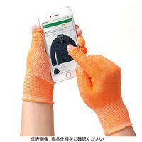 ミドリ安全 指先が使える手袋 スライドタッチeks オレンジ L 4044188230 1双(直送品)
