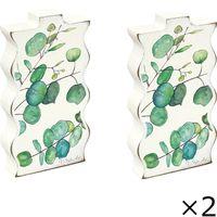 ユーパワー ベース スタイル アート「ボタニカル(ユーカリ)」 VS-00659 1セット(2個)(直送品)