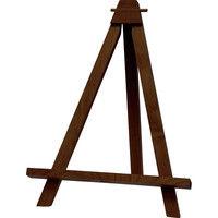ユーパワー 木製イーゼル(ダークブラウン) Lサイズ WE-01303 (直送品)