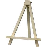 ユーパワー 木製イーゼル(ホワイト) Lサイズ WE-01304 (直送品)