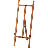 ユーパワー 木製イーゼル(ミドルブラウン) Lサイズ WE-06001 (直送品)