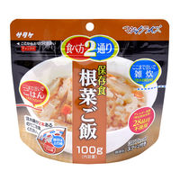 サタケ マジックライス アルファ化米 根菜ご飯 1食