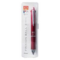 フリクションボール3 0.5mm メタル グラデーションレッド軸 赤 消せる3色ボールペン LKFB-150EF-GRR パイロット