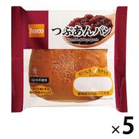 Pasco ロングライフパン つぶあんパン 1セット(5個入) 敷島製パン