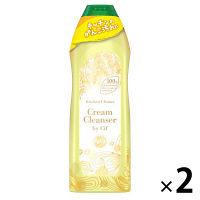 【数量限定デザイン】クリームクレンザー ジフレモン 270ml 1パック(2個入) ユニリーバ