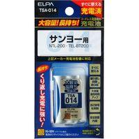 朝日電器 大容量長持ち充電池 TSA-014(直送品)