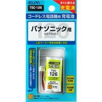 朝日電器 電話機用充電池 TSC-126(直送品)
