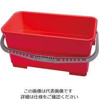 アズワン モップ用バケツ(ポリプロピレン製) 22L レッド TX7060 1個 3-7691-01(直送品)