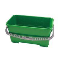 アズワン モップ用バケツ(ポリプロピレン製) 22L グリーン TX7062 1個 3-7691-03(直送品)