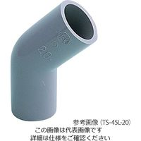 イシグロ 塩ビ管継手 45°エルボ 16 TS-45L-16 1個 3-8398-02 (直送品)