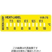 ミクロン ヒートラベル(不可逆性) 11R-75 1箱(10枚) 3-8758-01 (直送品)