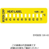 ミクロン ヒートラベル(不可逆性) 10R-132 1箱(10枚) 3-8771-05 (直送品)