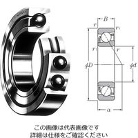 日本精工(NSK) アンギュラ 7010A (ホウキンリテーナ) 1個 62-4955-03 (直送品)