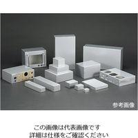 タカチ電機工業(TAKACHI) MB型アルミケース MB8-6-8 1個 62-8327-78(直送品)