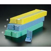 アズワン 包埋カセット(スタックタイプ) アクア 40個×25連入 M506-12T 1箱(1000個) 3-8648-11 (直送品)