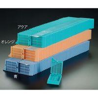 アズワン 包埋カセット(スタックタイプ) 緑 40個×25連入 M505-4T 1箱(1000個) 3-8649-03 (直送品)