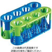 アズワン アダプトラック 青/緑 3-8856-01 1袋(2個) (直送品)