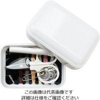 KAWAGUCHI ソーイングセット ホワイト 13-276 1セット 3-9036-01 (直送品)