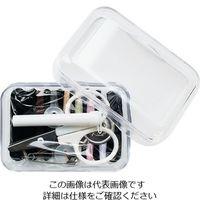 KAWAGUCHI ソーイングセット 透明 13-278 1セット 3-9036-03(直送品)