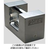 新光電子 枕型分銅 2kg JCSS校正証明書付 F2RS-2KA 1個 2-470-04-20(直送品)