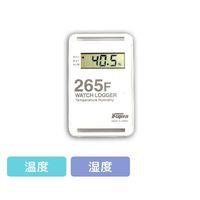 藤田電機製作所 サンプル別個別温度管理ロガー 温湿度タイプ 白 KT-265F/W 1個 3-5298-06(直送品)