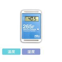 藤田電機製作所 サンプル別個別温度管理ロガー 温湿度タイプ 青 KT-265F/B 1個 3-5298-09(直送品)