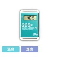 藤田電機製作所 サンプル別個別温度管理ロガー 温湿度タイプ 緑 KT-265F/G 1個 3-5298-10(直送品)