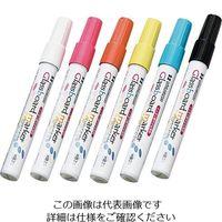 馬印 透明ボード用グラスボードマーカー6色セット BGB-6PS 1セット 3-8955-11 (直送品)