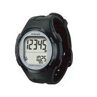 山佐時計計器(YAMASA) ウォッチ万歩計 ブラック/シルバー TM-500(B/S) 1個 3-9505-01 (直送品)