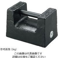 アズワン 枕型分銅(鋳鉄製) PWM5 1個 3-9950-03(直送品)