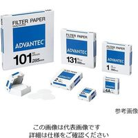 アドバンテック東洋(ADVANTEC) 定性濾紙 No.1 100枚入 00011110 1箱(100枚) 4-903-12 (直送品)