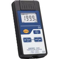 日置電機 HIOKI 温度ハイテスタ 3442 書類3点付 3442SYORUI3TENTUKI 1個 117-2215 (直送品)