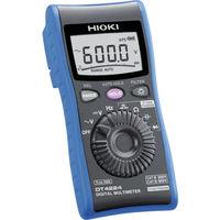 日置電機 HIOKI デジタルマルチメータ DT4224 書類3点付 DT4224SYORUI3TENTUKI 1台 117-3816(直送品)