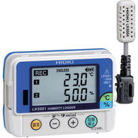 日置電機 HIOKI 温湿度ロガー LR5001 書類3点付 LR5001SYORUI3TENTUKI 1個 117-2195(直送品)