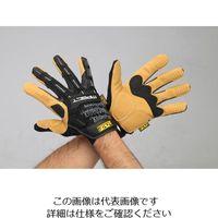 エスコ(esco) [L] 手袋・メカニック(合成革/黒・ブラウン) 1双 EA353BY-333(直送品)
