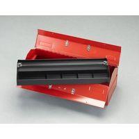 エスコ(esco) 520x224x200mm 工具箱(スチール製) 1台 EA504AE-7(直送品)