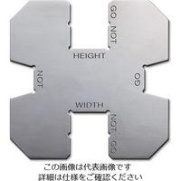 エスコ(esco) 51- 98 ガスケット幅・高さ測定限界ゲージ 1個 EA719K-74(直送品)