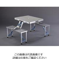 エスコ(esco) 1370x880x660mm テーブル・チェアーセット 1個 EA913YA-55(直送品)