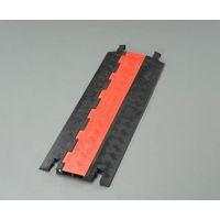エスコ(esco) 914x303x32mm ケーブルプロテクター(2溝/低床型) 1個(0.91m) EA983PG-2(直送品)