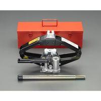 エスコ(esco) 1.0ton/121-381mm パンタグラフジャッキ(油圧式) 1台 EA993LA-20(直送品)