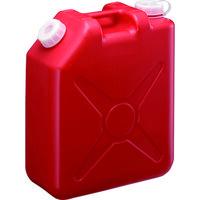 瑞穂化成工業 瑞穂 扁平缶20Lレッドノズルなし 0207R 1個 125-6373 (直送品)
