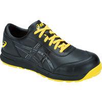 アシックス 静電気帯電防止靴 ウィンジョブCP30E ブラック×ブラック 22.5cm 1271A003.001-22.5 103-6633(直送品)